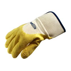 Rubber Coated Anti-Skid Gloves