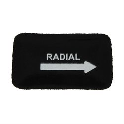 "10 Universal patch small oval 1-3 / 4"" X 3"" Renforcé"