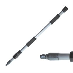 "Aluminium Flow-through Telescopic Pole Extends from 36"" to 62"" (M.P.30)"