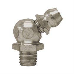 "100 ATLAS  Grease Fittings 1 / 4"" X 28 Taper, 45°"