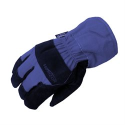 Insulated Cotton / Leather Gloves