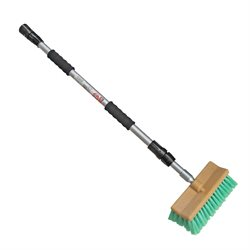 COMBO:Telescopic Pole With Wash Brush & Adaptor  (4560A / 3979 / 3907)