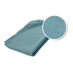 "12 Microfiber Cleaning cloth Blue 16""X16"" (M.P.20)"